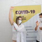 Primeiras vacinadas do Pajeú vem de Afogados e Iguaracy. Serra Talhada inicia às 13h